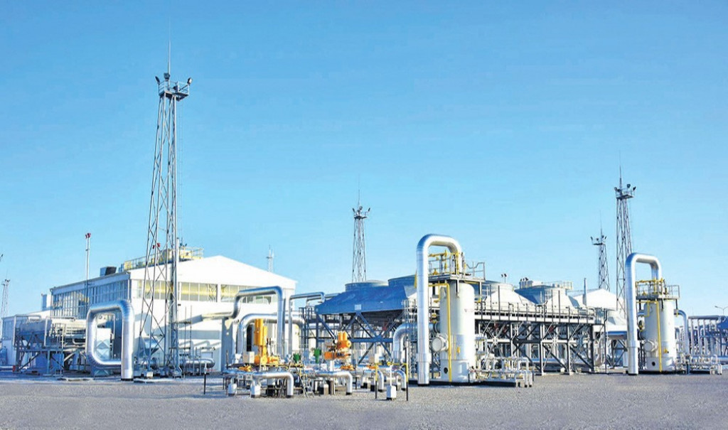 The next well of the Malay field gave a industrial gas inflow