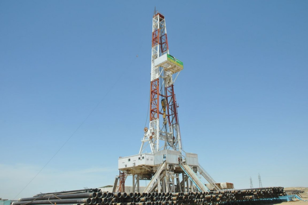 PRC company will complete the construction of three gas wells at the Galkynysh field