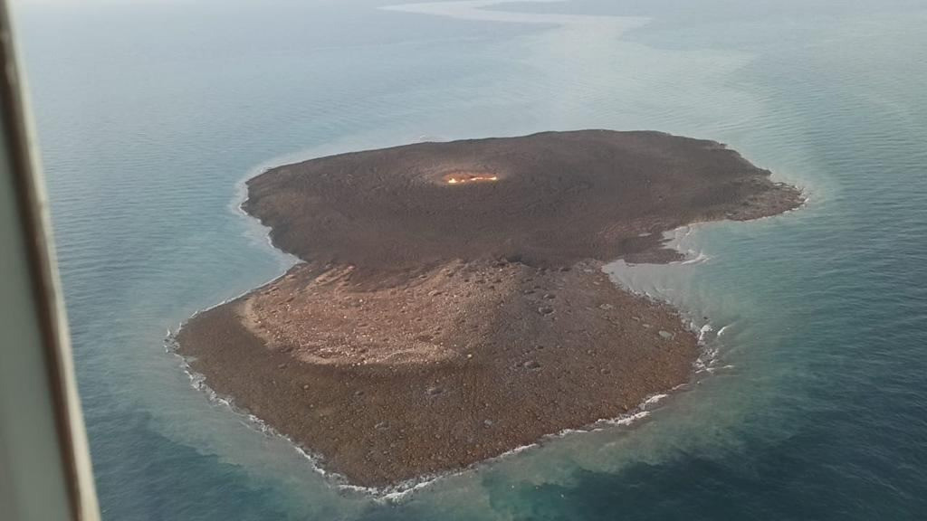 An explosion of volcanic origin occurred in the Azerbaijani sector of the Caspian Sea
