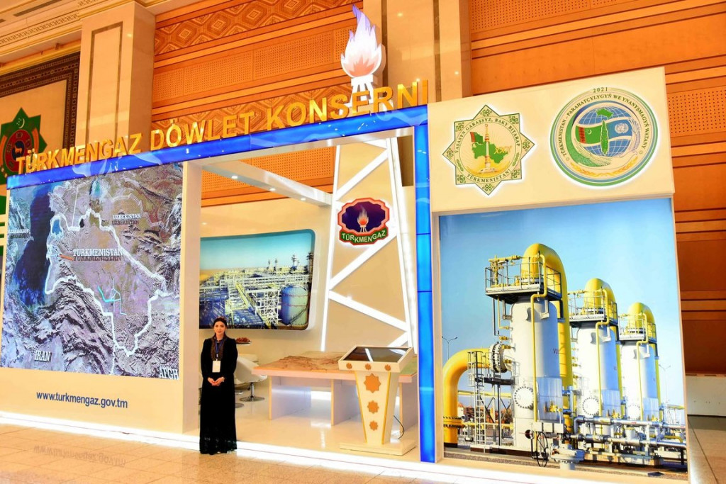 Fuel and energy companies participate in the jubilee exhibition in honor of the 30th anniversary of the independence of Turkmenistan