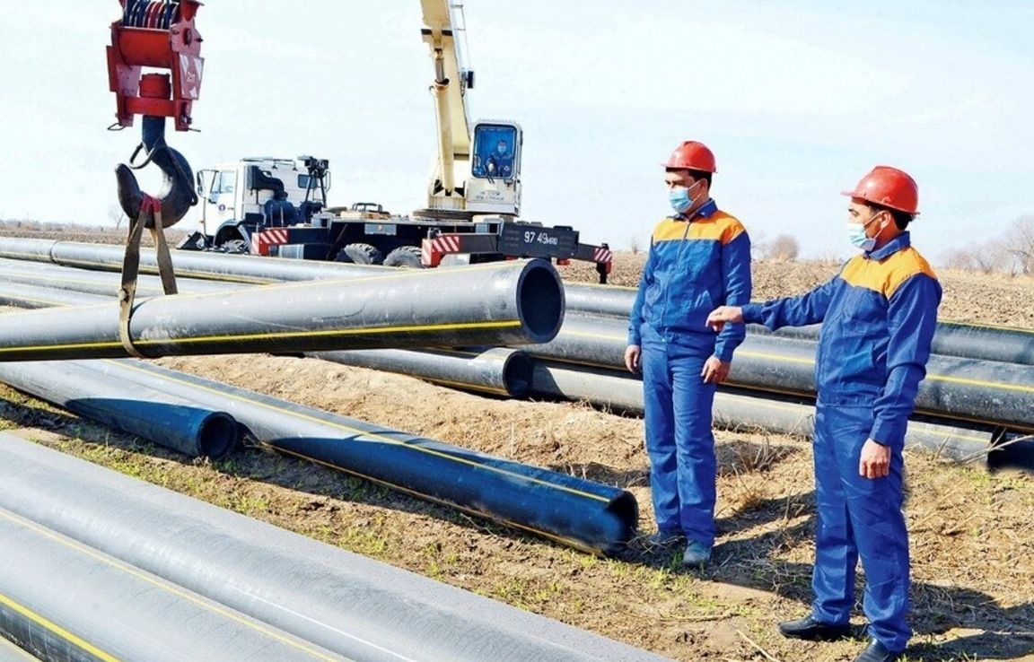 The expansion of gas pipelines is increasing