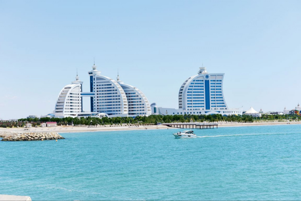 It will be provided safe rest of citizens on the coast of the Caspian Sea in the summer